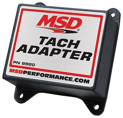 MSD Ignition 8920 Tachometer/Fuel Adapter