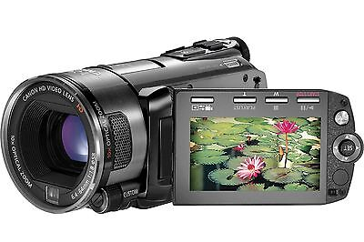 Canon Legria Hf S100 Camcorder Boxed Hd Sdhc Card Digital High Definition Video