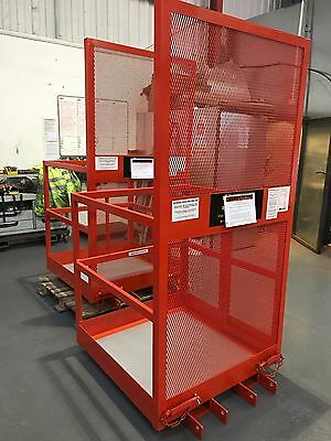 Forklift  Basket / Cage with Gate for Reach Truck