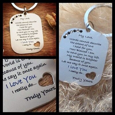 Gifts for him mens her christmas xmas Womens Love Romantic Heart husband Wife cc