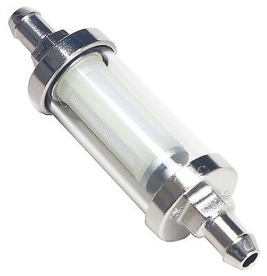 Trans-Dapt Performance Products 9245 Glass And Chrome Fuel Filter
