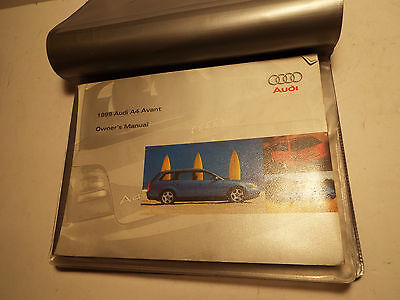 1999 Audi A4 Owners Manual.used.