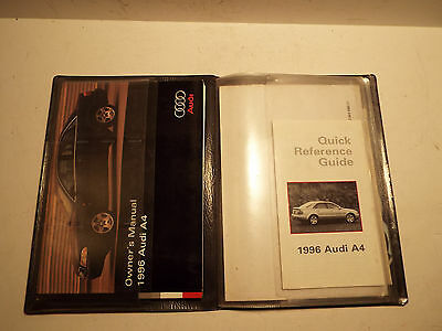 1996 Audi A4 Owners Manual.used.