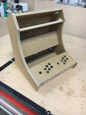 "BARTOP ARCADE JAMMA MACHINE DIY MDF 18MM With T MOLDING 17"" 19"" 21"" 22"""