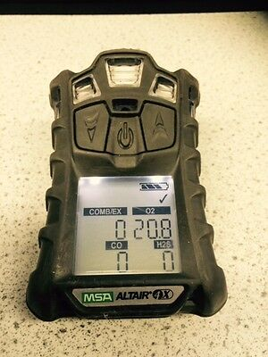 MSA ALTAIR 4x GAS MONITOR (LOOKS NEW) + CAL CERTIFICATE & 12 MONTH RETURN