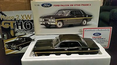 Biante/Autoart 1:18 scale Ford  Falcon XW GTHO Phase 2 in Reef Green.