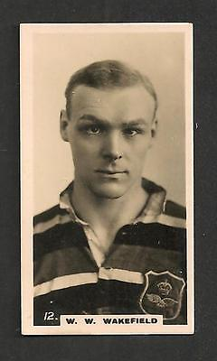 Sir WAVELL WAKEFIELD Wakers President of RUGBY FOOTBALL UNION  1926 Original