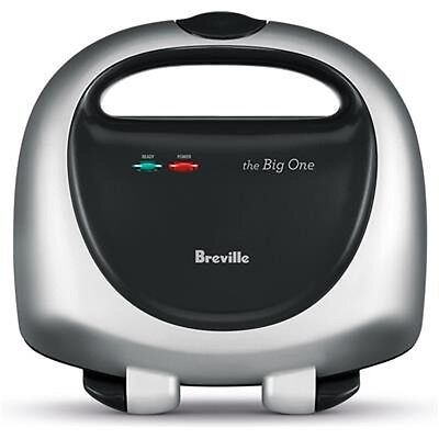 Breville The Big One Jaffle Toastie/Toaster/Sandwich Maker BTS100 2slice cooking