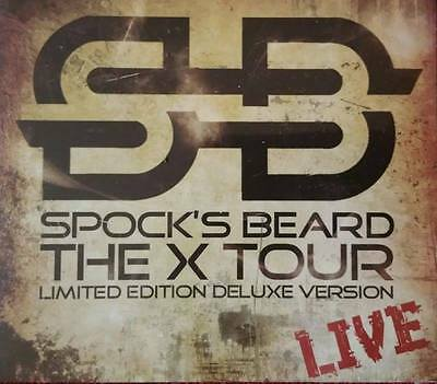 Spock's Beard - The X Tour - Limited Edition Deluxe Version (2CD+DVD Digipak)