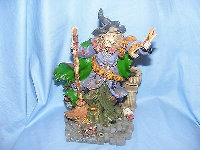 Witch With Snake Ornament Figurine Dragontales by Originalities Fantasy Figure