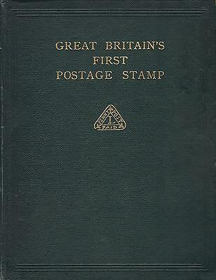 GREAT BRITAIN'S FIRST POSTAGE STAMP William Docwra Dockwra Pre-Penny Black - CD