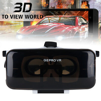 VR Virtual Reality Headset 3D Video Glasses w/ Headphone for iPhone 6 Plus AC503