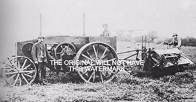 Suffolk Ancestry Mogul Tractor At Boxted Farm 1916 Vintage Mounted Print Farming