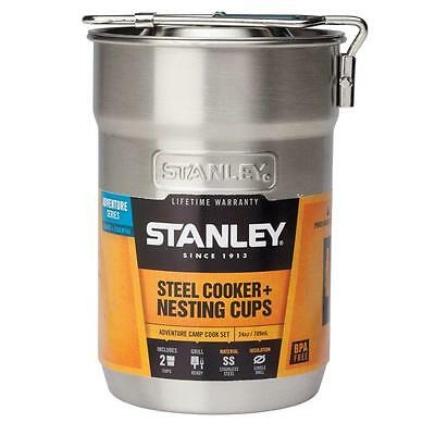 Stanley Adventure Steel Cooker And Nesting Cups