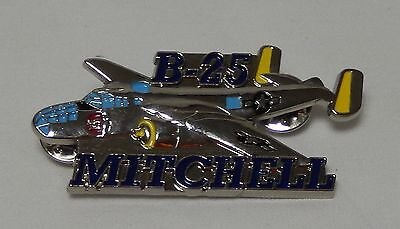 B-25 Mitchell Hat Lapel Pin Up Us Army Air Corps Ww 2 Air Force Pilot Crew