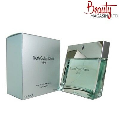 NEW Calvin Klein Truth for Men Eau de Toilette Spray 100ml Fragrance FREE P&P