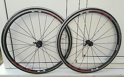 Shimano r500 wheelset with tubes and tyres