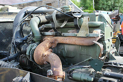 Unimog Om352A 170Hp Turbo Engine Complete