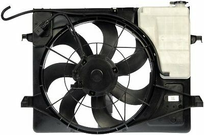 Radiator Fan With Reservoir And Resistor