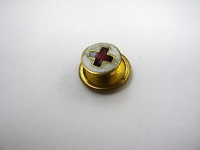 Rare Vintage Collectible Pin: Red Cross Small Enamel