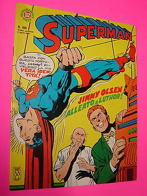 SUPERMAN Mondadori ALBI DEL FALCO  n. 600 originale BELLO