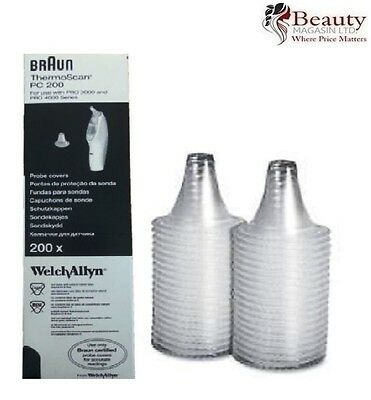Braun ThermoScan Probe Covers Replacement Lens Filters for 200PC/ 400PC/ 800PC