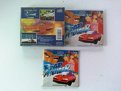 Boite/notice pour jeu Road avenger SEGA MegaCD Mega-cd MGCD PAL FR/UK/DE/ES/IT