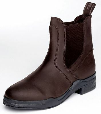 HyLAND WAXED LEATHER Jodhpur Boot Dealer Unisex Adult Black or Brown 4 - 8
