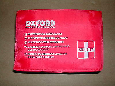Kit Pronto Socorso Moto / First Aid Kit Din 13167 -- Oxford -- C6000238