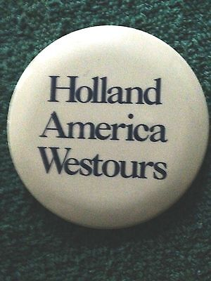 Holland America Lines PINBACK BUTTON
