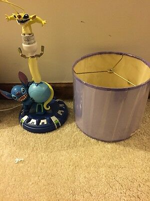 Retired Disney &stitch Experiment 626 Cousin Sparky Lamp