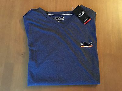 6 Ralph Lauren Polo Sport T shirts S Blue NWT Wholesale Job Lot