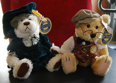 Brass Button Bears Collection Louise & Bentley