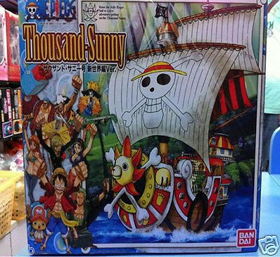One Piece Thousand-Sunny Assembling Toy Decoration