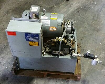 "7.5 hp hydraulic power unit   ""Shipping Available ""    #1049D"