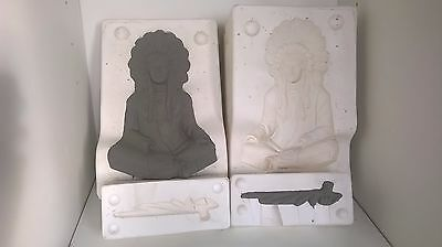 Ceramic Slip Casting Mold Provincial 869A And 869B Indian Chief
