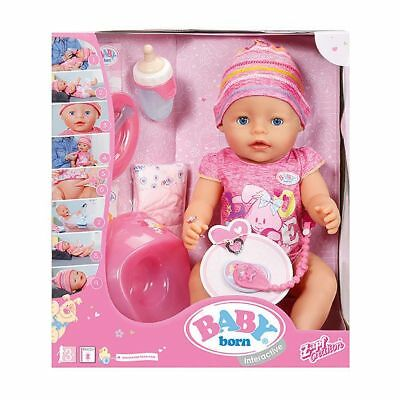 NEW BABY Born Interactive Doll