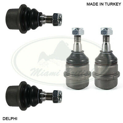 Steering Knuckle Upper /& Lower Ball Joints x4 for Range Rover P38 Delphi