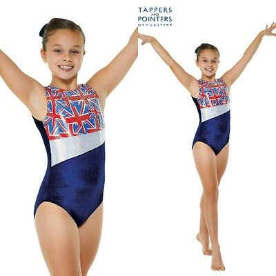 Tappers and Pointers Sleeveless Gymnastic Leotard/ Gym 25