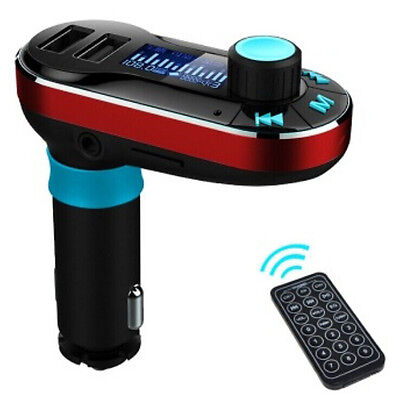 Wireless Bluetooth FM Transmitter MP3 Player Car Kit Charger For iPhone Andriod