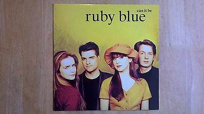 RUBY BLUE - Can it be - Original Vinyl 12'' EP - Phonogram Records 1990