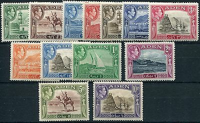 Aden 1939-48 SG 16-27 set to 10r mint