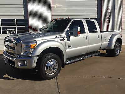 2014 Ford F-450 Lariat 2014 Ford F-450 Lariat by Western Hauler 4X4 Nav Leather Back up Camera Diesel