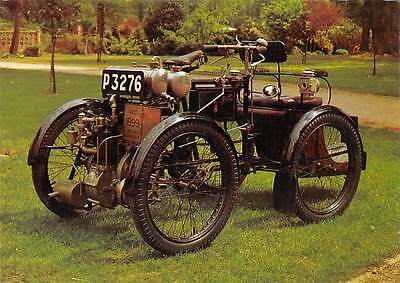 Old Four Wheel Motorcycle P3276 VCC 1899 Postcard