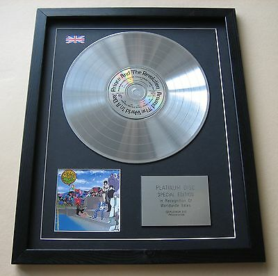 PRINCE & THE REVOLUTION Around The World In A Day CD/ PLATINUM DISC Presentation