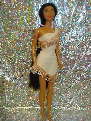 Pocahontas Doll~Disney~Mattel~First Edit.~Classic~Dress & Doll Only~No Flaws~