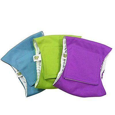 Pet Magasin Washable Belly-Wrap Diapers for Male Dogs 3-Pack Small