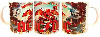 Acdc-Brian Johnson-Bon Scott-Monsters Of Rock Mug