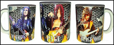 Tony Iommi Black Sabbath-Jimmy Page Led Zeppelin- Richie Blackmore Legends Mug