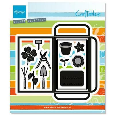 Marianne Design die set  craftable cr1395 Seed Pocket & Garden Tools